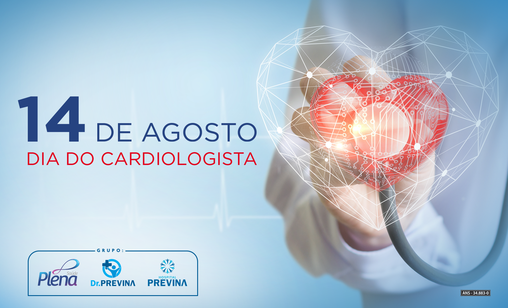 14 de agosto – Dia do Cardiologista